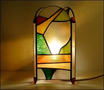 lampa de masa tiffany
